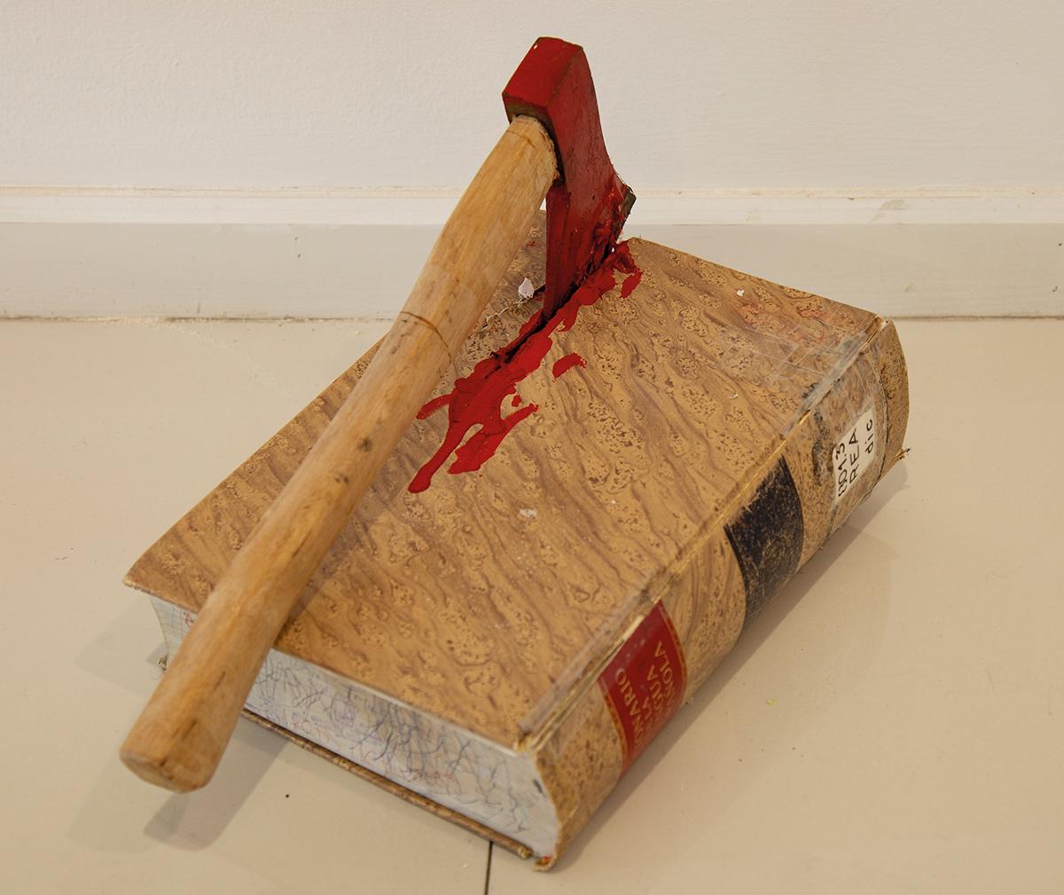 La letra con sangre entra. Serie La muerte de los libros